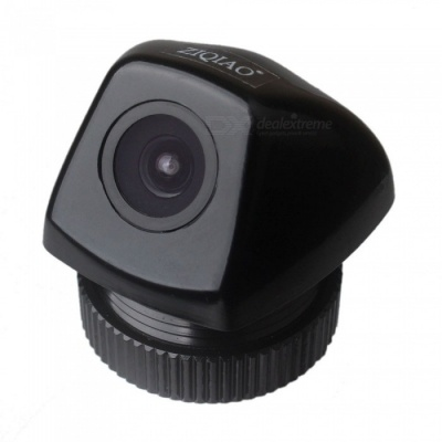 ZIQIAO ZHS-046 CCD HD Waterproof Night Vision Car Camera Backup Reverse Rearview Parking Cam Camera for BMW X6 E71 and More