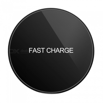 D10 Slim 10W Fast Charge Wireless Charger for Qi-Enabled Devices