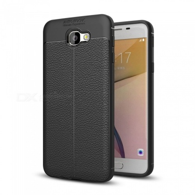 Dayspirit Lichdee Pattern Protective TPU Back Cover Case for Samsung Galaxy J5 Prime, On5(2016), G570 - Black