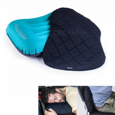 NatureHike NH17Z025-T Portable Dustproof Inflatable Pillowcase Pillow Cover - Black