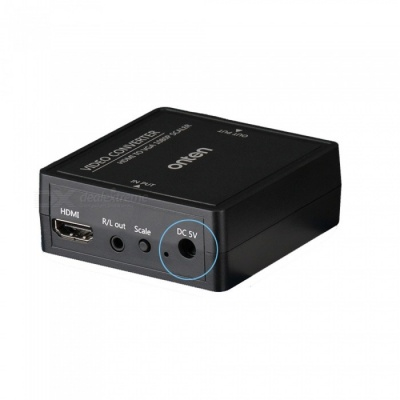 HDMI to VGA HD 1080P Converter with Audio Power Supply for Set-Top Box