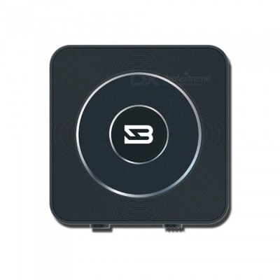 Bluetooth 4.1 Transmitter and Receiver, 2-in-1 3.5mm Wireless Audio Adapter - Black