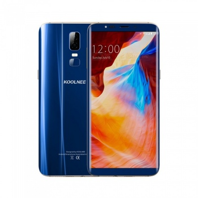 """KOOLNEE K1 Android 7.0 4G 6.01"""" Phone with 4GB RAM, 64GB ROM, 3190mAh Large Battery - Blue"""