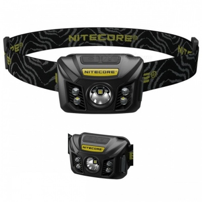 NITECORE NU30 400Lm Cree XP - G2 USB Rechargeable High CRI LED Headlamp w/ Multiple Outputs - Army Green