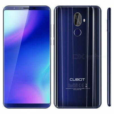"""CUBOT X18 plus Android 8.0 4G 5.99"""" Phone with 4GB RAM, 64GB ROM - Blue"""
