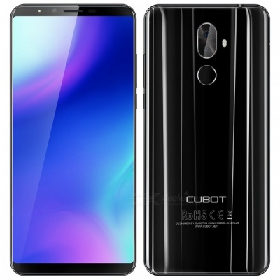 """CUBOT X18 plus Android 8.0 4G 5.99"""" Phone with 4GB RAM, 64GB ROM - Black"""