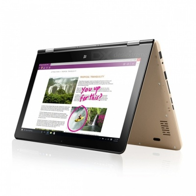 """VOYO VBOOK A1 Series Apollo Lake N3450 Quad Core 1.1-2.2GHz Win10 11.6"""" Tablet PC IPS Screen With 8GB DDR3L 128GB SSD - Gold"""