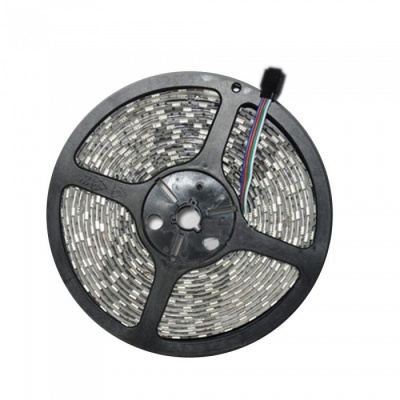 ZHAOYAO Non-Waterproof 12V 5050SMD 60-LED/m 5m RGB LED Flexible Strip Light