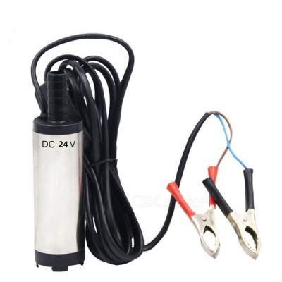 ZHAOYAO 24V DC Diesel Fuel Water Oil Car Camping Fishing Submersible Transfer Pump