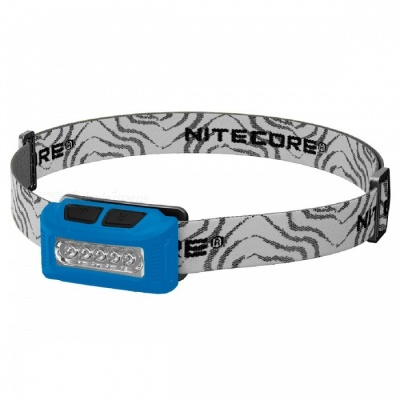 Nitecore NU10 Portable Rechargeable White Red Double LED Headlamp - Blue
