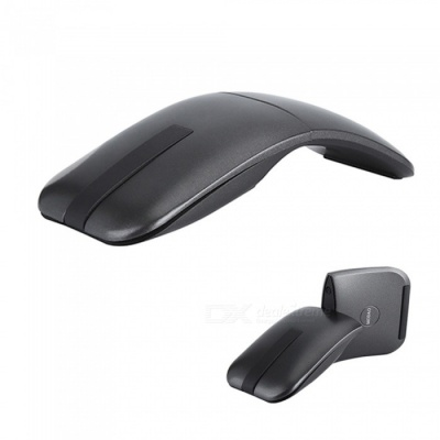Ultra Slim180 Degree Ronatable Hinge Touch Senstive 2.4G Wireless Mouse  forNotebook PC Laptop Computer Macbook