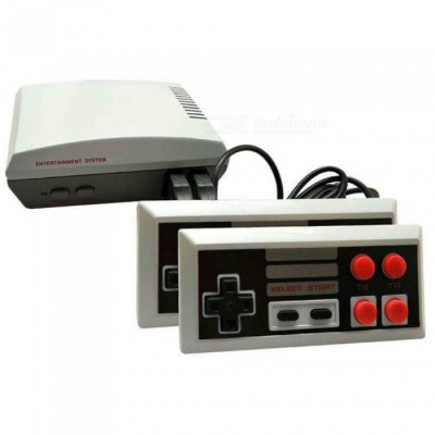 HD Vesion NES Classic TV Video Game Machine, Handheld Console w/ Built-in 600 Games (US Plug)