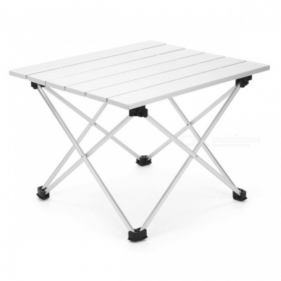 AOTU AT6701 Portable Folding Fishing Camping Aluminum Grill Table for Adults, Children (L)