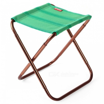 AOTU AT6751 Portable Folding Mini Fishing Camping Chair for Adults, Children - Green