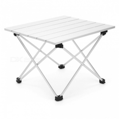 AOTU AT6701 Portable Folding Fishing Camping Aluminum Grill Table for Adults, Children (M)