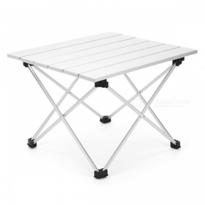 AOTU AT6701 Portable Folding Mini Fishing Camping Aluminum Grill Table for Adults, Children (S)
