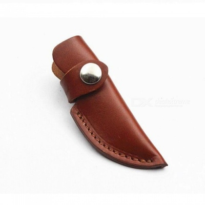CTSmart 021 New Outdoor Small Leather Knife Cover Case - Brown (6#)