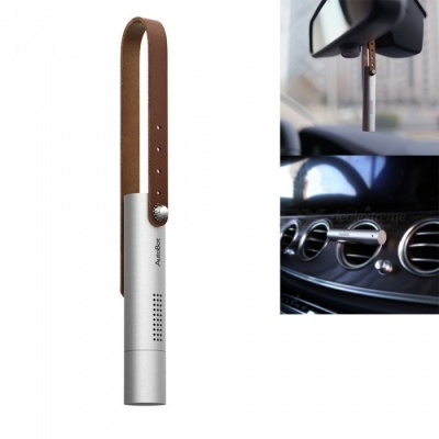 OJADE Car Auto Vent Air Purifier, Air Conditioning Outlet Perfume Diffuser Clip - Silver