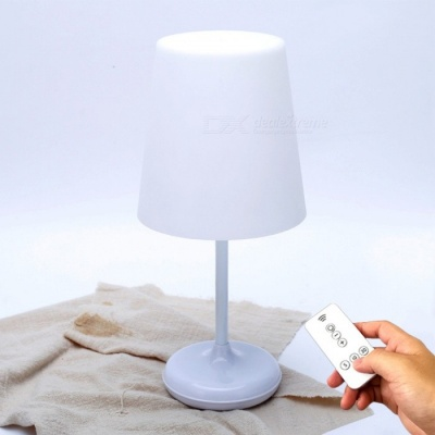 YouOKLight LED Intelligent Remote Control Bedroom Bedside Lamp, Touch Control 3-Mode Dimming Table Lamp, Timing Off Light