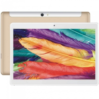 "Binai G10Max MTK Helio X20 (MTK6797) Deca Core 10.1"" Android Tablet PC with 3GB RAM, 32GB ROM - Golden (US Plug)"