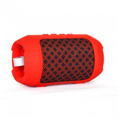 ZHAOYAO Mini Outdoor Bluetooth Stereo Hands-free Speaker - Red