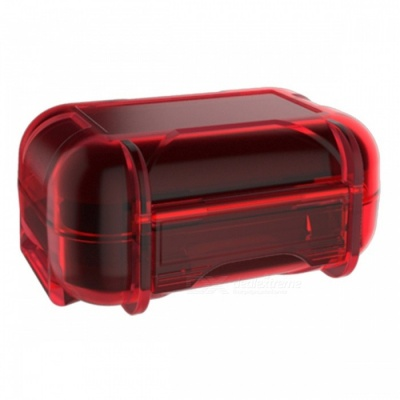 KZ Portable High-End Dust-proof Headphone Protector Storage Box Bag - Red