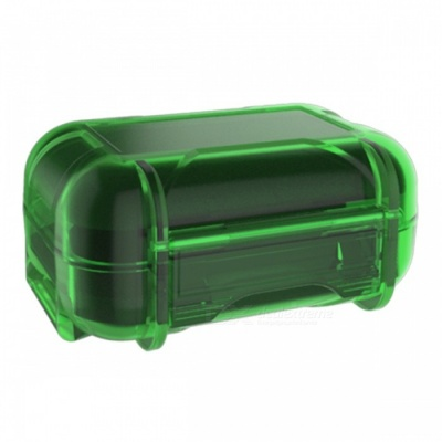 KZ Portable High-End Dust-proof Headphone Protector Storage Box Bag - Green