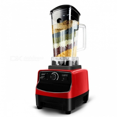 G5200 BPA Free 3HP 2200W Commercial Electric Blender Mixer Juicer, Powerful Fruit Food Processor for Smoothie Bar (UK Plug)