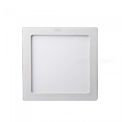ZHAOYAO 12W Square Shaped Warm White Ceiling Panel Light LED Downlight Wall Mounted Bedroom Kitchen Spotlight