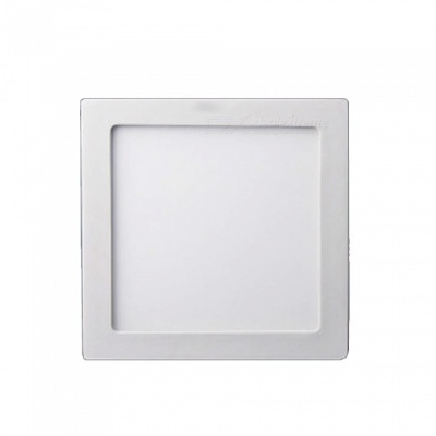 ZHAOYAO 6W Square Shaped Warm White Ceiling Panel Light LED Downlight Wall Mounted Bedroom Kitchen Spotlight