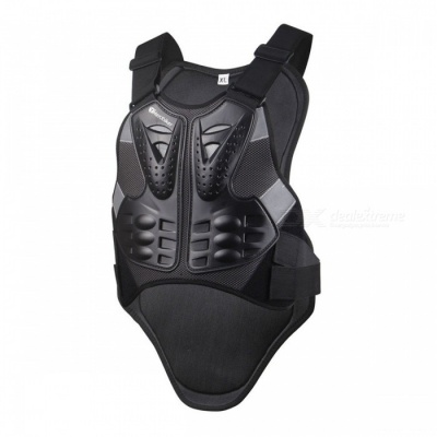 HEROBIKER Motocross Racing Armor, Motorcycle Riding Body Protection Jacket with a Reflecting Strip (XL)