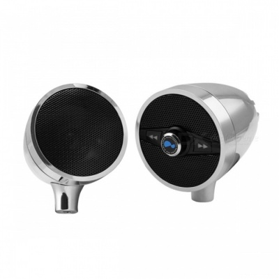 """Lexin S3 3"""" 50W MP3 Music Audio Player Bluetooth Speaker for Motorcycle"""