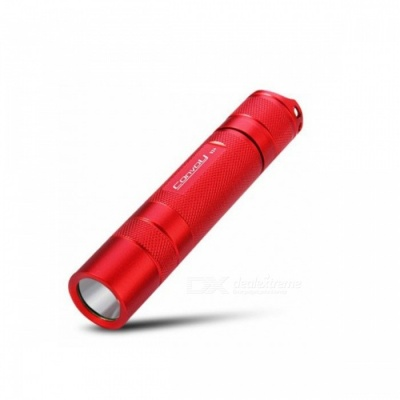 Convoy S2+ 1000LM Cree XM L2 T6 - 4C 3 / 5 Modes LED Flashlight Torch (1 x 18650 Battery) - Red