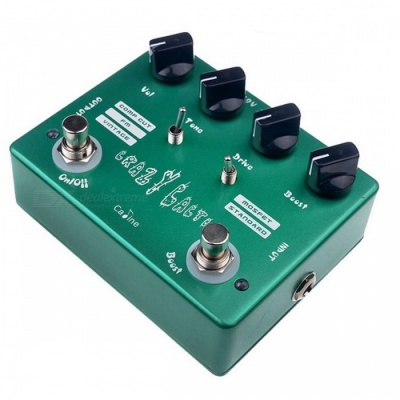 Caline CP-20 Crazy Cacti Overdrive Guitar Effect Pedal True Bypass Design