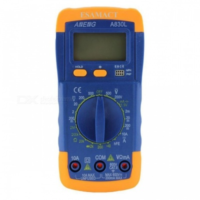 Digital Multimeter Universal Meter A830L