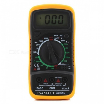 Multimeter 830L Handheld Digital Multimeter Universal Meter
