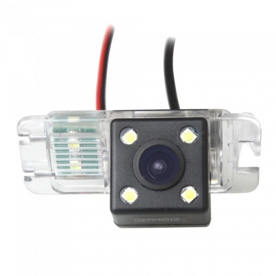 ZIQIAO CCD HD chip Car Back Up Rear View Reverse Parking Camera for Ford Mondeo/Fiesta/Focus Hatchback/S-Max/Kuga