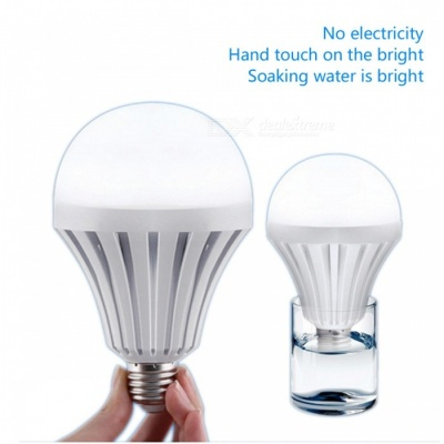 ZHAOYAO 5W E27 Home Emergency Magic Intelligent Water Activated LED Bulb Light AC 85~265V