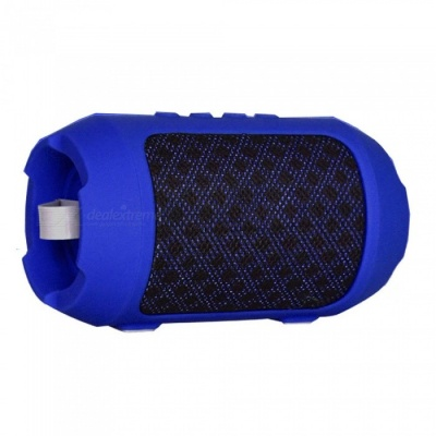 ZHAOYAO Mini Outdoor Bluetooth Stereo Hands-free Speaker - Blue