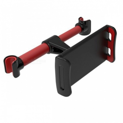 Car Backseat Support Bracket Mount Holder for IPHONE, IPAD, Samsung S8, Tablet PC and More - Red