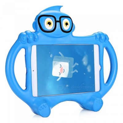 Kid Style Protective EVA Silicone Back Case Cover for Mobile Phone - Blue