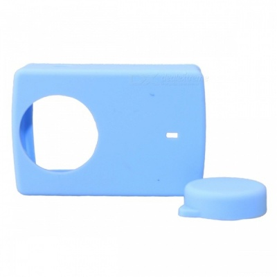 Protective Silicone Case Cover for Sports Camera 4k 4k+ YI Lite - Blue