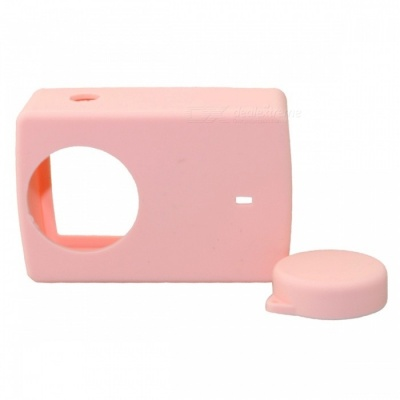 Protective Silicone Case Cover for Sports Camera 4k 4k+ YI Lite - Rose Golden