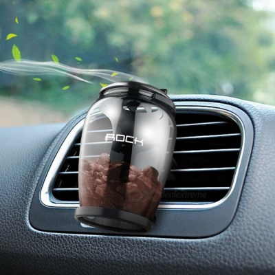 ROCK Aromatherapy Universal Car Air Vent Air Freshener Luxury Natural Zeolite Fragrance Aroma