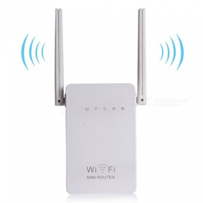 300Mbps Wi-Fi Extender Range Extender, Large Power AP Repeater Router for Home