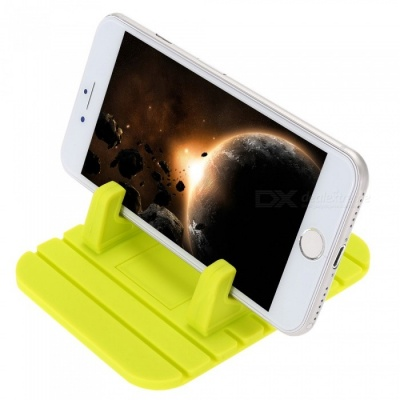 Universal Car Dashboard Mount Holder for IPHONE, GPS, Mobile Phone - Grass Green