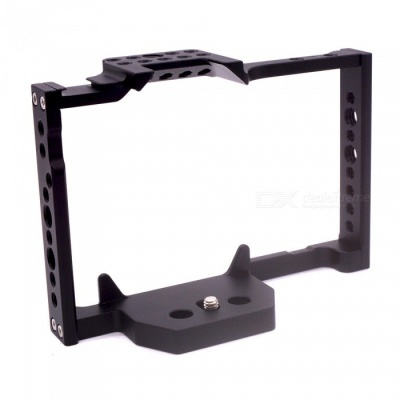 VELEDG Video Camera Cage Stabilizer Protector for Panasonic Lumix GH5 - Black