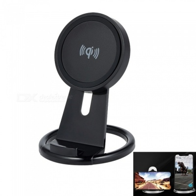 Cwxuan Qi Wireless Charger Stand for IPHONE X 8/8Plus, Samsung S8 S7, Any Qi Standard Phone