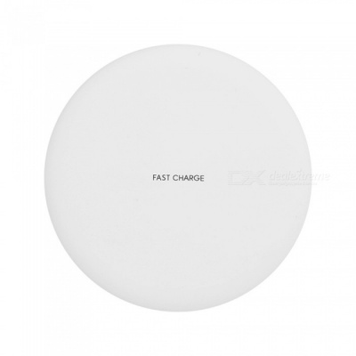 High Quality 9V-1.67A QI Fast Charging Phone Wireless Charger - White