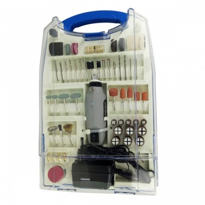 Multi-functional Rotary Tool Kit with 110Pcs Accessories